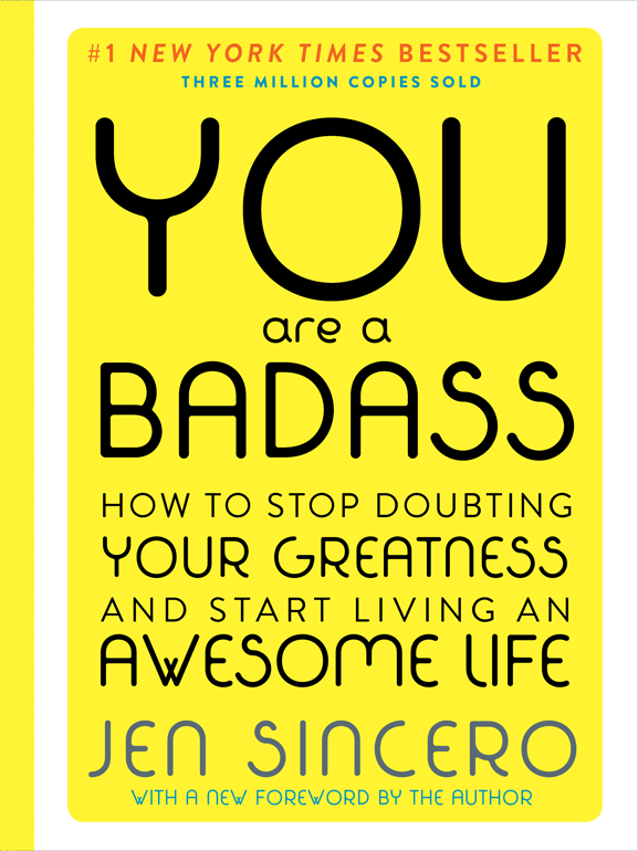 You Are a Badass Deluxe Hardcover Edition